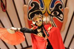 παραδοσιακή πρόσωπο-μεταβαλλόμενη τέχνη, Κίνα στοκ εικόνα με δικαίωμα ελεύθερης χρήσης