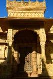Παραδοσιακή πόρτα Jaisalmer Rajasthan Ινδία Στοκ Εικόνες