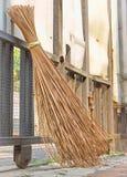 Παραδοσιακή σκούπα attap Στοκ φωτογραφία με δικαίωμα ελεύθερης χρήσης