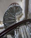 Παραδοσιακή σπειροειδής σκάλα Στοκ Φωτογραφία