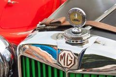 παραδοσιακή συνεδρίαση των ανεμιστήρων των εκλεκτής ποιότητας αυτοκινήτων και των μοτοσικλετών Στοκ Εικόνες