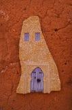 Παραδοσιακή τέχνη στην επίδειξη Ait Benhaddou διανυσματική απεικόνιση