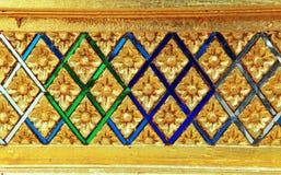 Παραδοσιακή ταϊλανδική τέχνη ύφους Στοκ εικόνες με δικαίωμα ελεύθερης χρήσης