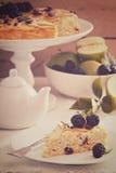 Παραδοσιακή ψημένη πιάτο πίτα ζυμαρικών Kugel Στοκ φωτογραφίες με δικαίωμα ελεύθερης χρήσης