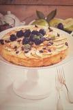 Παραδοσιακή ψημένη πιάτο πίτα ζυμαρικών Kugel Στοκ Εικόνα