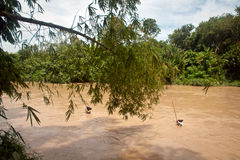 Παραδοσιακοί ανθρακωρύχοι άμμου στοκ φωτογραφία με δικαίωμα ελεύθερης χρήσης