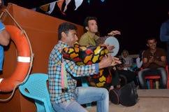 Παραδοσιακοί ιρανικοί φορείς μουσικής Στοκ Φωτογραφίες