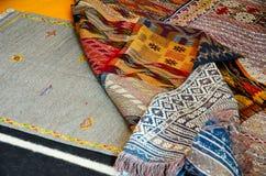 Παραδοσιακοί τάπητες berber Στοκ Εικόνα