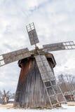 παραδοσιακός ανεμόμυλ&omicron Στοκ Φωτογραφίες