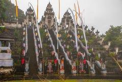 Παραδοσιακός από το Μπαλί ναός Pura Penataran Agung Lempuyang στο Μπαλί, Ινδονησία Στοκ Εικόνα