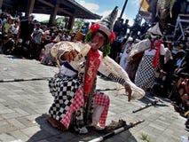 Παραδοσιακός από το Μπαλί νεκρικός χορευτής Στοκ φωτογραφία με δικαίωμα ελεύθερης χρήσης