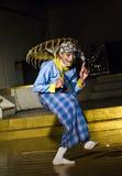 Παραδοσιακός βιρμανός χορευτής Στοκ εικόνες με δικαίωμα ελεύθερης χρήσης