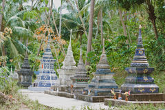 Παραδοσιακός Βούδας ναός της Ταϊλάνδης Στοκ φωτογραφία με δικαίωμα ελεύθερης χρήσης