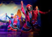 Παραδοσιακός ινδικός χορός Στοκ Φωτογραφία