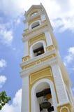 Παραδοσιακός μεξικάνικος πύργος κουδουνιών εκκλησιών Στοκ Εικόνες