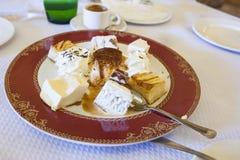 Παραδοσιακός πίνακας μετά από-γευμάτων Στοκ φωτογραφία με δικαίωμα ελεύθερης χρήσης