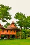 Παραδοσιακός ταϊλανδικός ξύλινος Στοκ Εικόνα