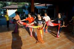 Παραδοσιακός της Ιάβας χορός Στοκ εικόνα με δικαίωμα ελεύθερης χρήσης