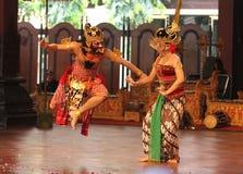 Παραδοσιακός της Ιάβας χορός Στοκ Φωτογραφίες