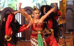Παραδοσιακός της Ιάβας χορός Στοκ φωτογραφίες με δικαίωμα ελεύθερης χρήσης