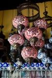 παραδοσιακός Τούρκος λαμπτήρων Στοκ Φωτογραφίες