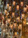 παραδοσιακός Τούρκος λαμπτήρων Στοκ Εικόνα