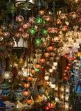 παραδοσιακός Τούρκος λαμπτήρων Στοκ Εικόνες