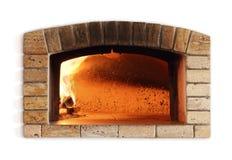 Παραδοσιακός φούρνος πυρκαγιάς για την πίτσα Στοκ φωτογραφία με δικαίωμα ελεύθερης χρήσης