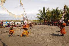 Παραδοσιακό φεστιβάλ μασκών χορού Στοκ Φωτογραφία