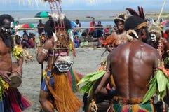 Παραδοσιακός φυλετικός χορός στο φεστιβάλ μασκών Στοκ Εικόνα