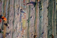 Παραδοσιακός χειροποίητος παλαιός χρωματισμένος τάπητας withgrains της άμμου Στοκ φωτογραφίες με δικαίωμα ελεύθερης χρήσης