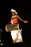 Παραδοσιακός χορός Lankas Sri Στοκ εικόνα με δικαίωμα ελεύθερης χρήσης