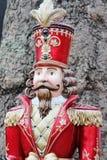 Παραδοσιακό άγαλμα κουκλών στρατιωτών Στοκ Φωτογραφία