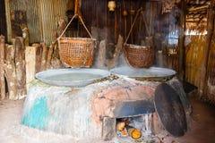 Παραδοσιακό άλας που κάνει στην Ταϊλάνδη Στοκ Εικόνα