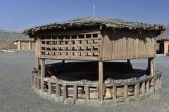 Παραδοσιακό ασιατικό πέτρινο περίπτερο Στοκ εικόνες με δικαίωμα ελεύθερης χρήσης