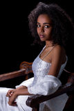 Παραδοσιακό αφρικανικό φόρεμα Στοκ Εικόνες