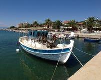 Παραδοσιακό αλιευτικό σκάφος στοκ εικόνες