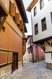 Παραδοσιακό βουλγαρικό κόκκινο σπίτι στην παλαιά πόλη Plovdiv, Βουλγαρία Στοκ φωτογραφία με δικαίωμα ελεύθερης χρήσης
