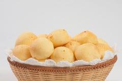 Παραδοσιακό βραζιλιάνο ψωμί τυριών Στοκ Εικόνες