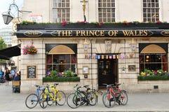Παραδοσιακό βρετανικό μπαρ στοκ εικόνα
