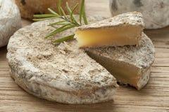 Παραδοσιακό γαλλικό τυρί αιγών στοκ εικόνες