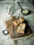 Παραδοσιακό γερμανικό strudel μήλων Στοκ εικόνα με δικαίωμα ελεύθερης χρήσης