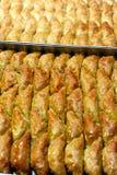 Παραδοσιακό επιδόρπιο τουρκικό Baklava Στοκ φωτογραφία με δικαίωμα ελεύθερης χρήσης