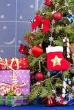 παραδοσιακό διάνυσμα συμβόλων Χριστουγέννων κομψό Στοκ Φωτογραφίες