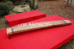 Παραδοσιακό ιαπωνικό όργανο Στοκ εικόνα με δικαίωμα ελεύθερης χρήσης