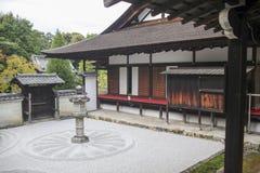 Παραδοσιακό ιαπωνικό karesansui Στοκ εικόνα με δικαίωμα ελεύθερης χρήσης