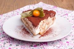 Παραδοσιακό ιταλικό κέικ Στοκ Εικόνες