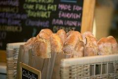 Παραδοσιακό ιταλικό ciabatta ψωμιού Στοκ Εικόνες