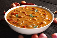 Παραδοσιακό κάρρυ πιάτο-Ulli του Κεράλα theeyal Στοκ εικόνα με δικαίωμα ελεύθερης χρήσης