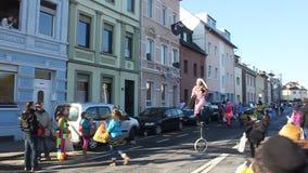 Παραδοσιακό καρναβάλι στη Βόννη φιλμ μικρού μήκους